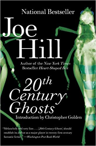 20th Century Ghosts Book Cover Horror Anthologies